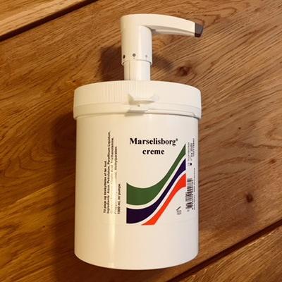 Marselisborg Creme 1000 ml med pumpe