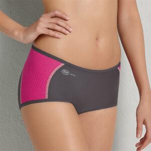 Sportstrusser pink-antracit