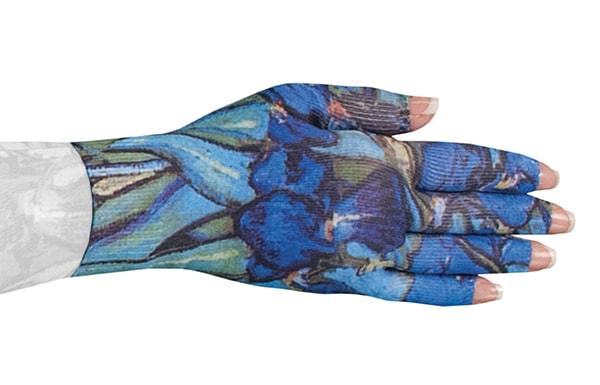 Irises kompressionshandske fra LympheDiva