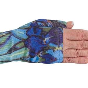 Irises kompressionshandske uden fingre