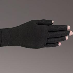 Onyx kompressionshandske med fingre