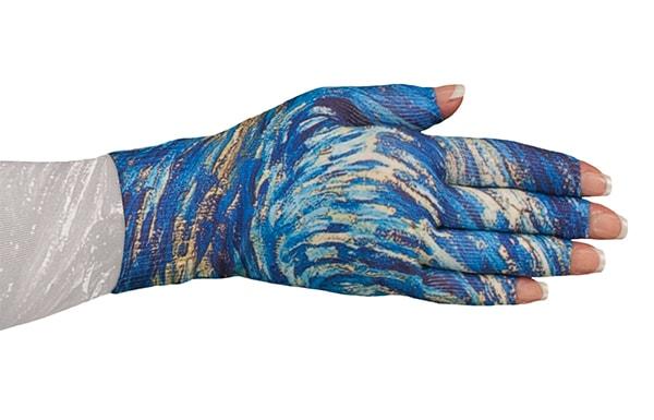 Starry Night kompressionshandske fra LympheDivas