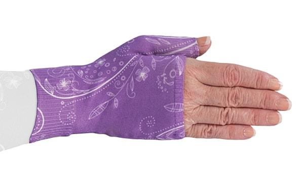Firefly Purple kompressionshandske uden fingre