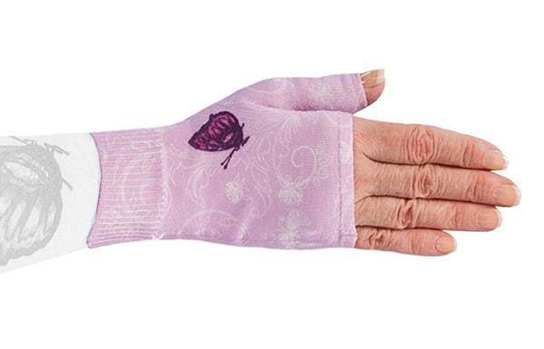 Mariposa Pink kompressionshandske uden fingre