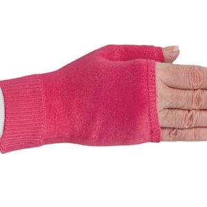 Fuchsia kompressionshandske uden fingre