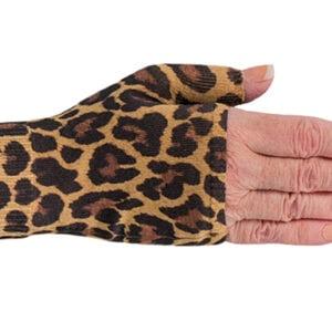 Leo Leopard kompressionshandske uden fingre