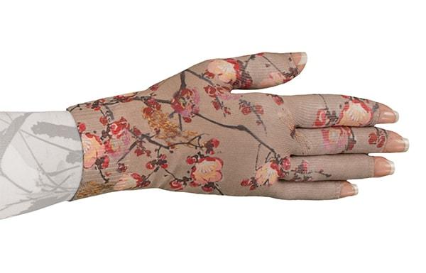 Plum Blossom kompressionshandske fra LympheDivas