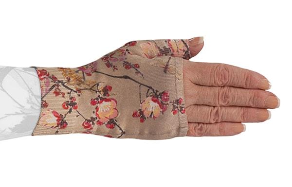 Plum Blossom kompressionshandske uden fingre