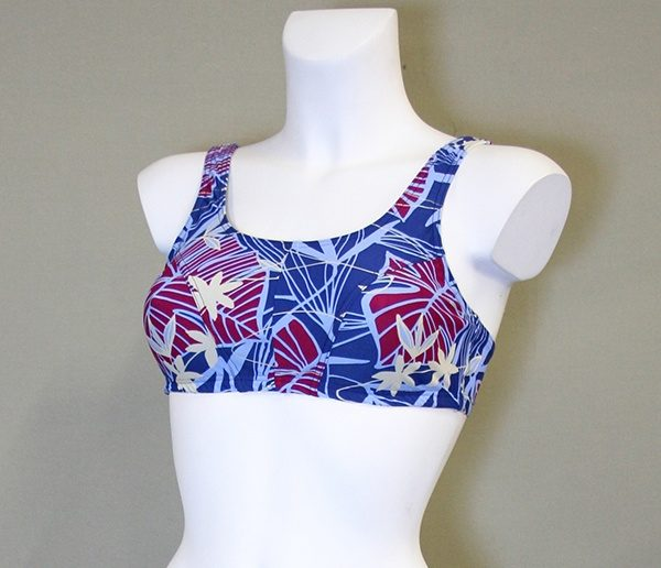 Carrie bikinitop med lomme i begge sider til din brystprotese