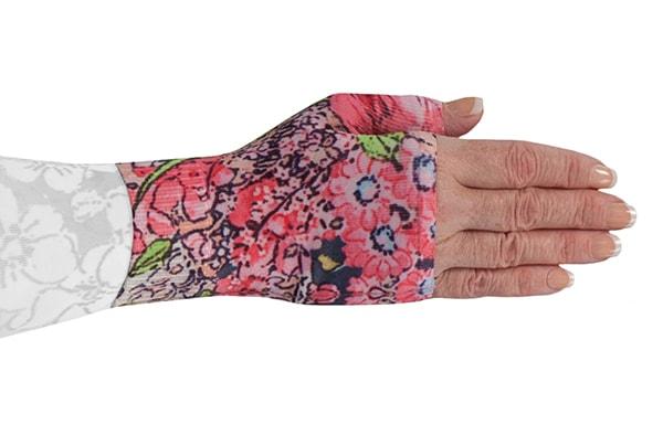Bloomin Betty Dark kompressionshandske uden fingre
