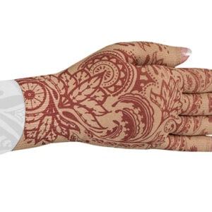 Bodhi Beige kompressionshandske med fingre