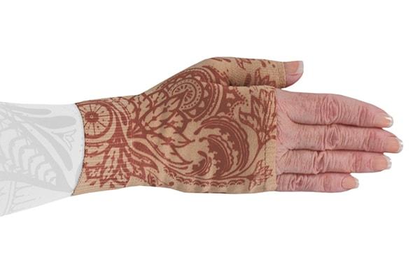 Bodhi Beige kompressionshandske uden fingre