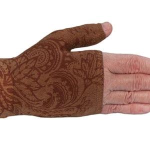 Bodhi Mocha kompressionshandske uden fingre