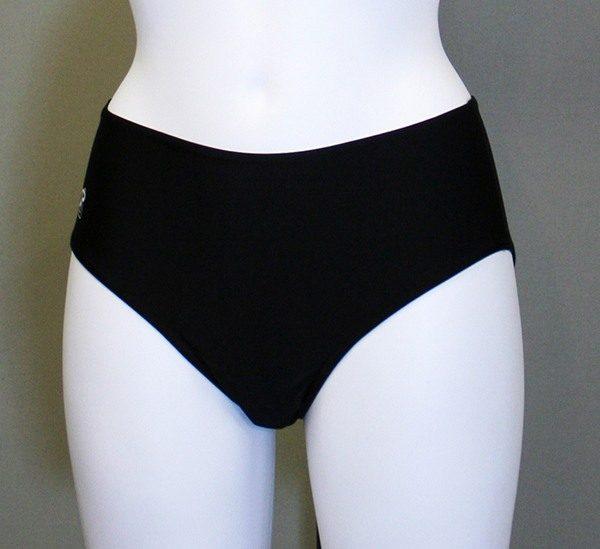 Jasmin bikinitrusser i sort er en ægte klassiker.