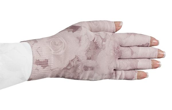 Romantic Rose kompressionshandske med fingre