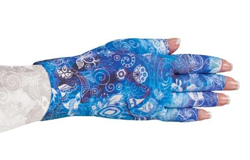 Sapphire kompressionshandske med 5 fingre