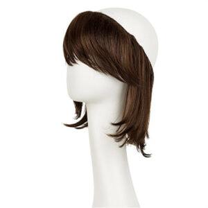 Hairpiece langt hår chestnut brun