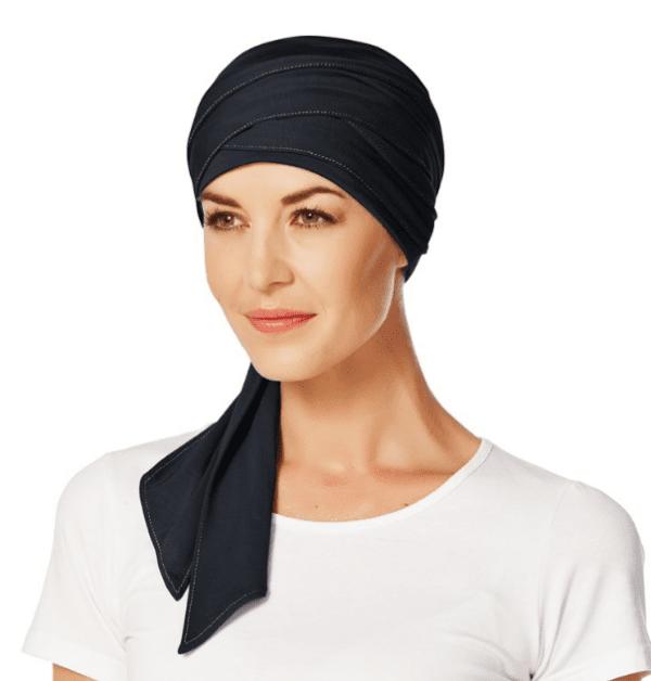 Mantra tørklæde i mørkeblå