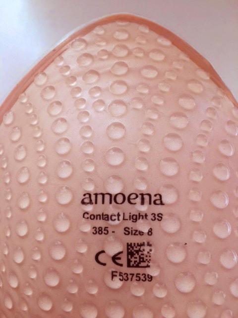 Soft cleanser bruges til at rengøre en contact brystprotese