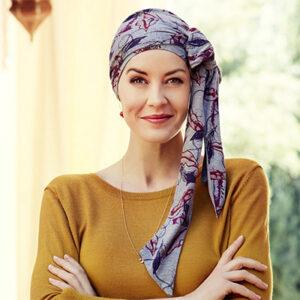 Mantra tørklæde med mønster - Indian Mood