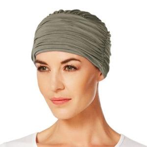Brungrøn Zen turban