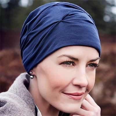 B.B. Becca turban i mørkeblå