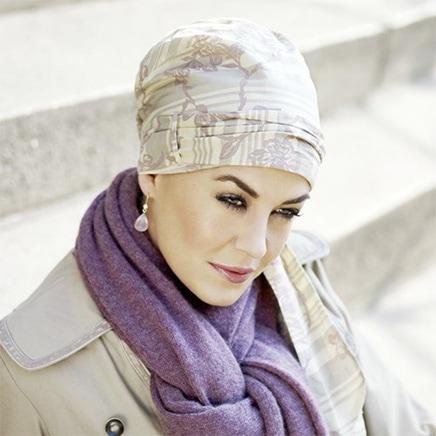 Siri tørklæde fra Christine Headwear