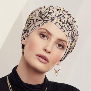 Lækker Rosa turban hue fra Viva Headwear