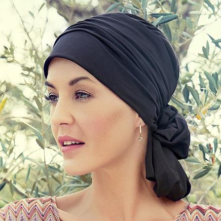 Sort Mila turban