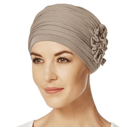 Brun Lotus turban