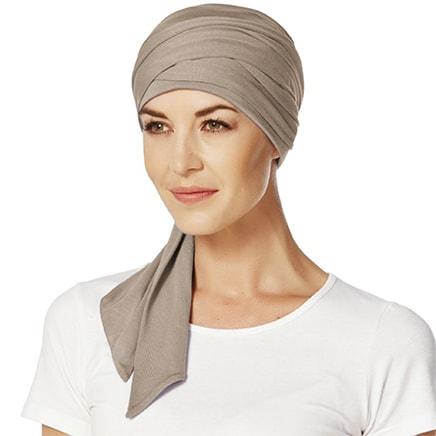 Mantra tørklæde i brunt