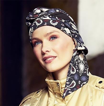 Mantra tørklæde i Modern Paisley mønster